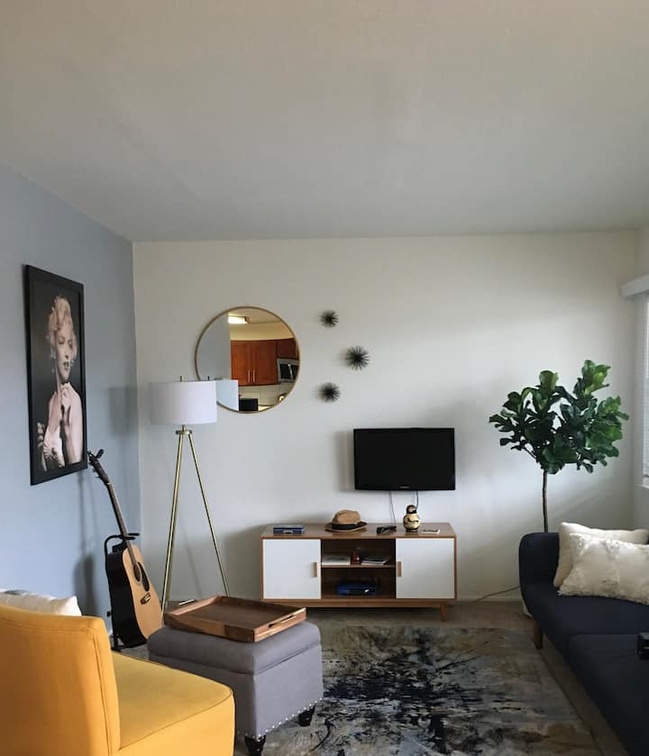 Chic one bedroom Berkeley Apartment with a View