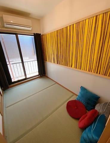 2階の寝室1 Bedroom 1 on the 2nd floor