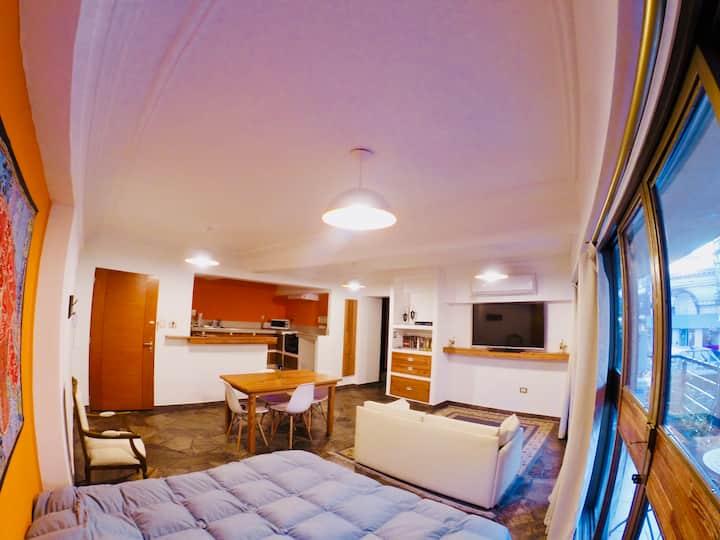 Apartamento 1 Dorm. Peatonal 97m2 / 77m2 cub