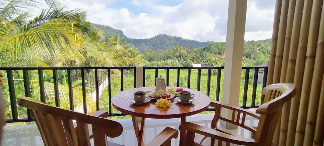 Double Spacious Room with Mount Agung view