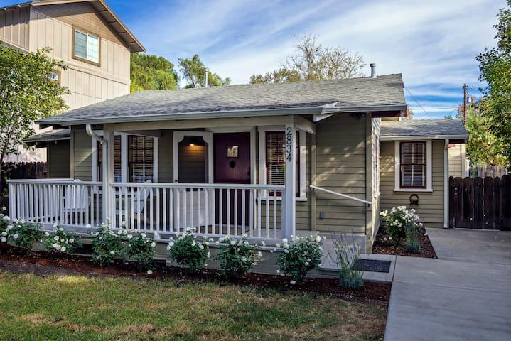 2BR/1BA - Getaway Cottage - Downtown Los Olivos - Los Olivos - Huis