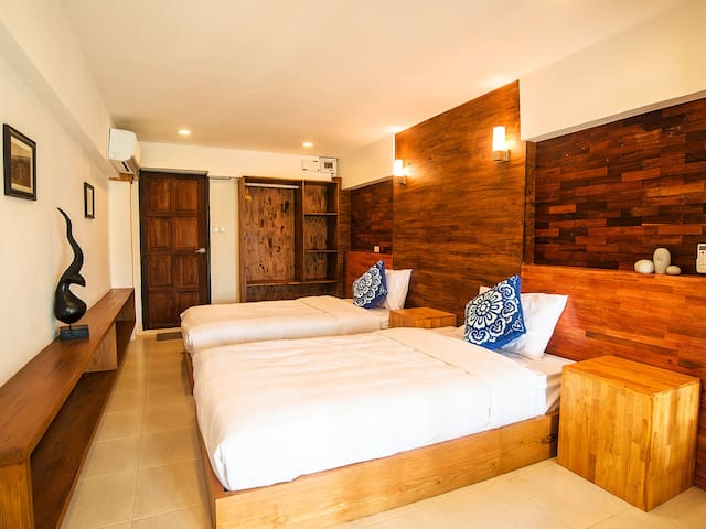 Pai Yododo Resort 豪华标间 Twin Bed - Mae Hong Son - Bed & Breakfast