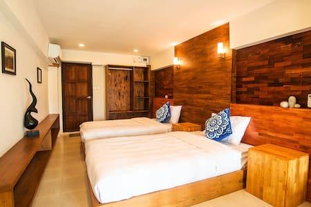 Pai Yododo Resort 豪华标间 Twin Bed - Bed & Breakfast
