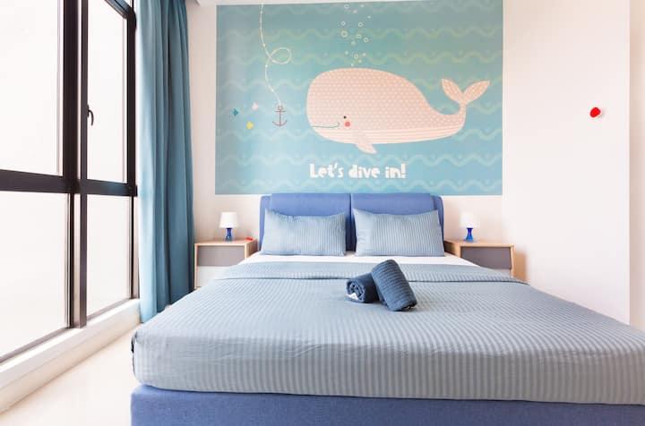 ❤️ Cute Couple Nest SeaLife Theme opp/ Legoland ❤️