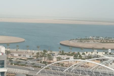 Nice apartment wonderful view close to yas,airport