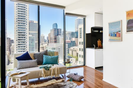 Downtown Living: Boutique Chic Apt@CBD central - Melbourne - Wohnung