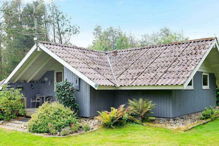 Casa vacanze panoramica a Oksbøl con terrazza