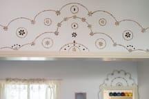 My beautiful work on the wall