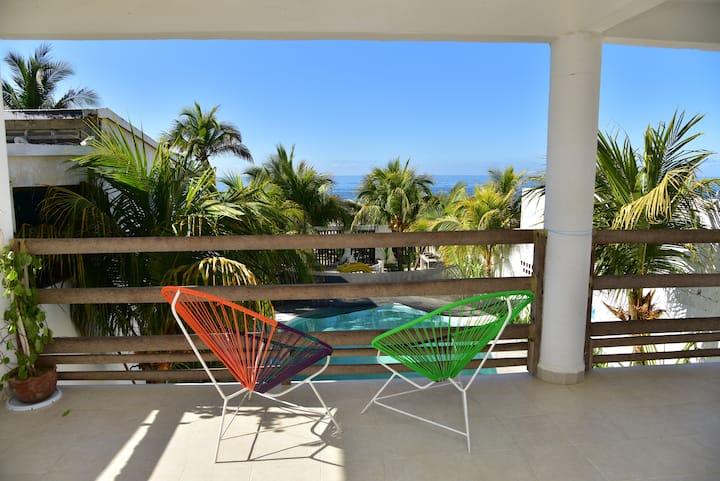 Casa de Sal casa en la playa con alberca