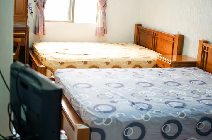 AlongSea45- 1 Double Room - Fangliao Township - House