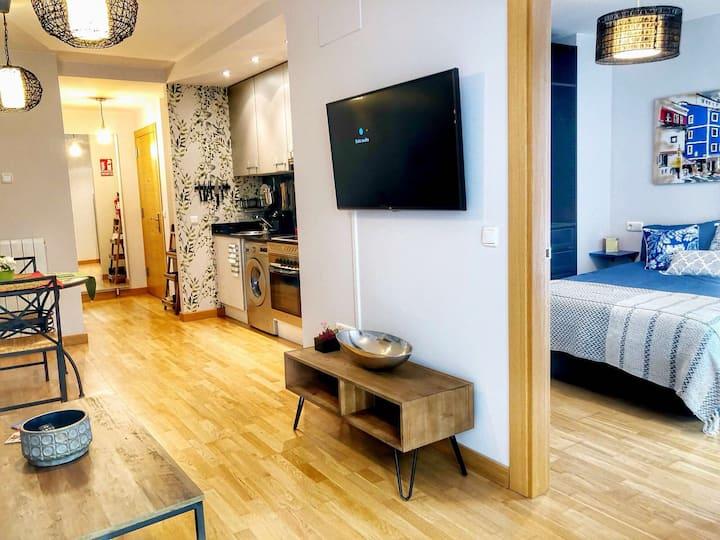 Precioso y céntrico apartamento en Gijón