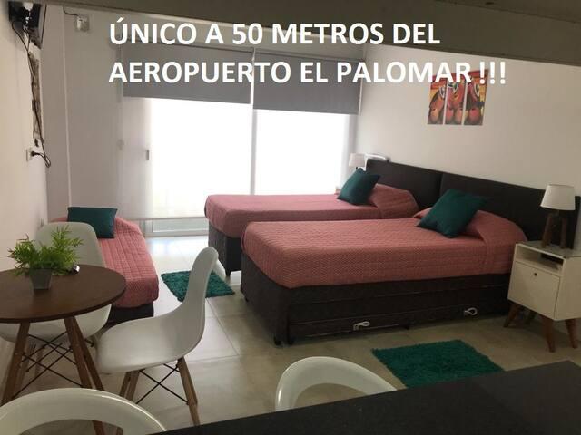 EL Palomar 2 (50 metros del Aeropuerto) impecable!