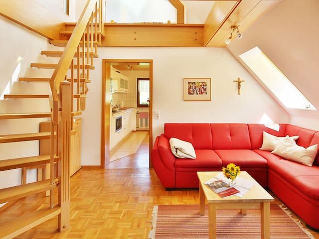Haus Scherer, (St. Peter), Ferienwohnung Blumenwiese, 80qm, 2 Schlafzimmer, max. 4 Personen