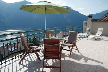 Casa La Perla on lake Como with spectacular views