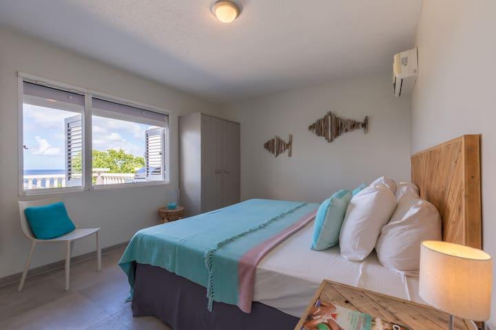 master bedroom, with ocean view