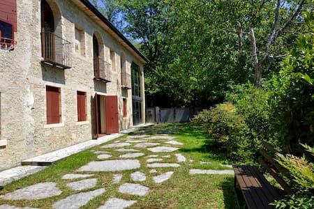Apartment in the woods of Refrontolo(Veneto-Italy)