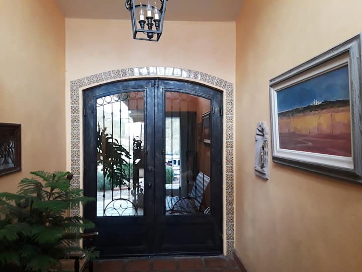 Hacienda style on 5 acres for work or play