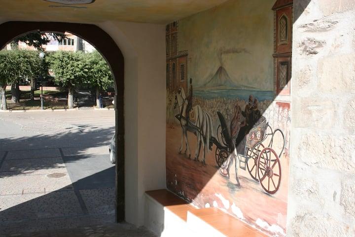 A due passi, bilocale nel centro storico