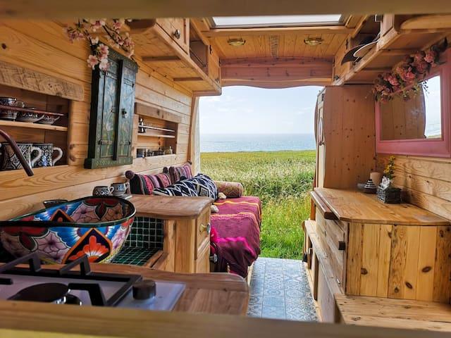 A unique Cornish campervan ready for an adventure