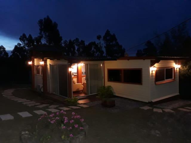 Chacra Tajamar - Hermosa cabaña en zona tranquila.