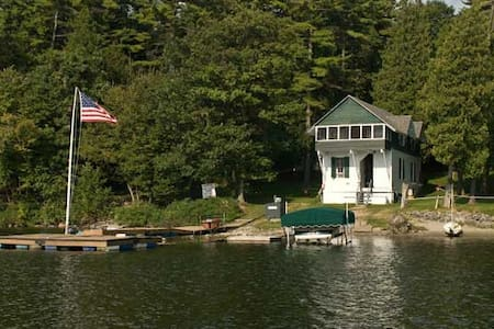 "Lake Front Cabin ""Willow"", Near Burlington, VT - Charlotte"