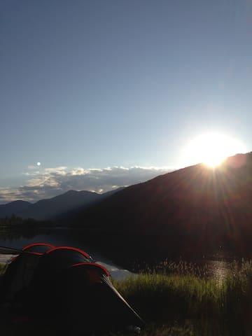 Nore Neset, Hagavik i Os kommune - Os