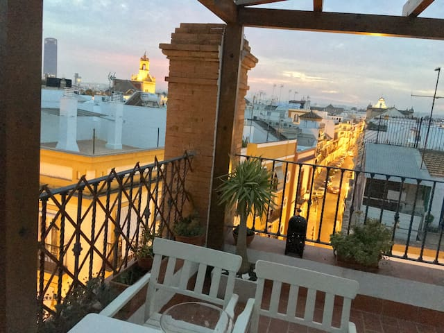 PRIVATE TERRACE IN ALAMEDA VFT/SE (en trámite) - Sevilla - Apartmen