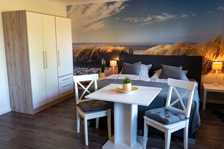 Doppelzimmer mit Terrasse 15 - Haus Stern - Ostsee
