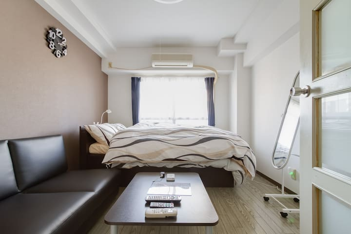 Welcome you without nationality!Clean and cozy apt - Chūō-ku, Ōsaka-shi - อพาร์ทเมนท์