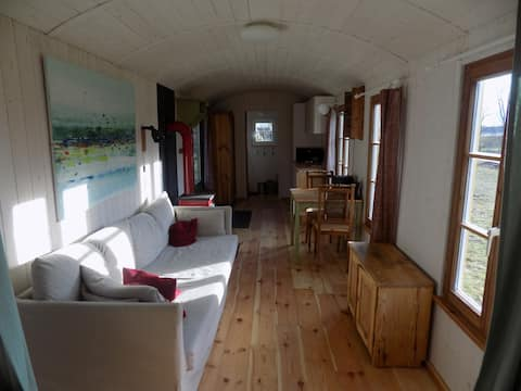 Tiny house delights in the Spreewald