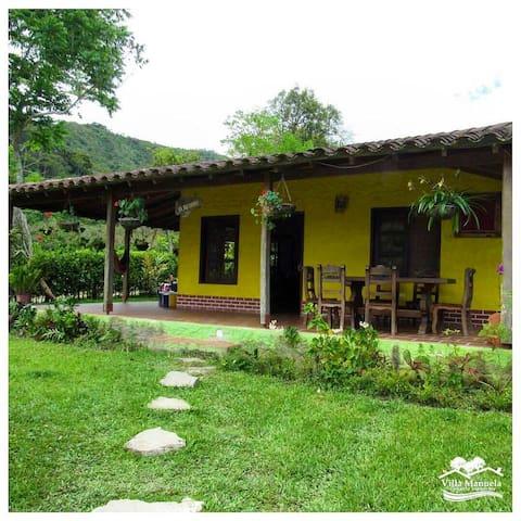 Cabañas villa Manuela