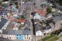 View of Chapel Street from top of Saint Annes church
