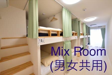 Central of Japan 3min walk to JR Sta Men's room 4