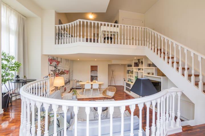 Céntrico y acogedor duplex de lujo en Vigo