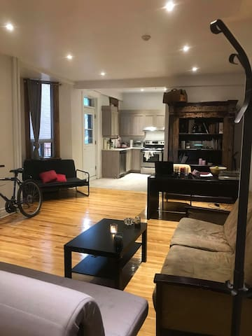 Chambre dans appartement à côté du Parc lafontaine