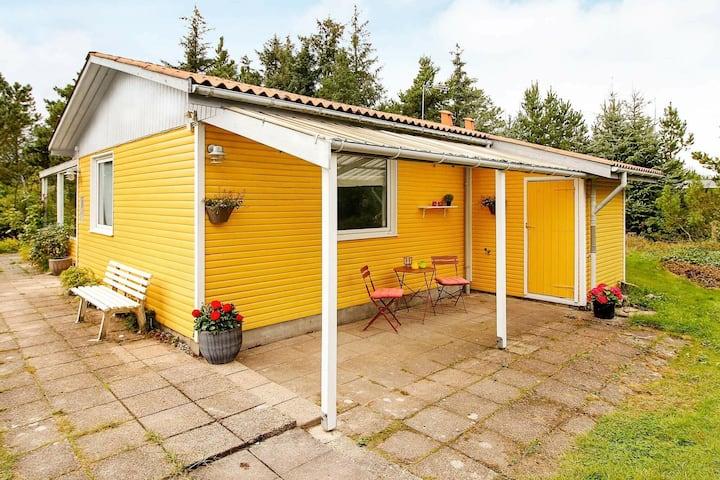 Tranquila casa de vacaciones en Jutlandia, cerca del mar