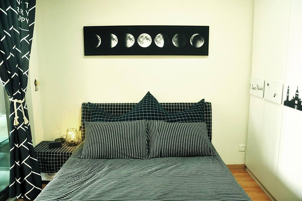 舒适的床品是房东想体现的最好体验