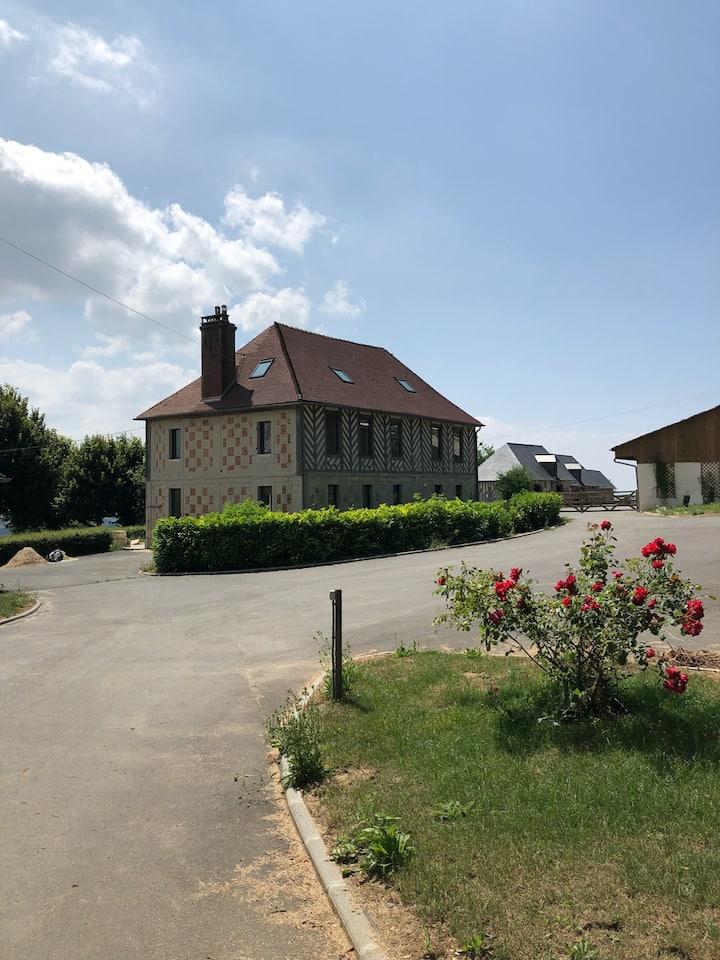Villa à la ferme