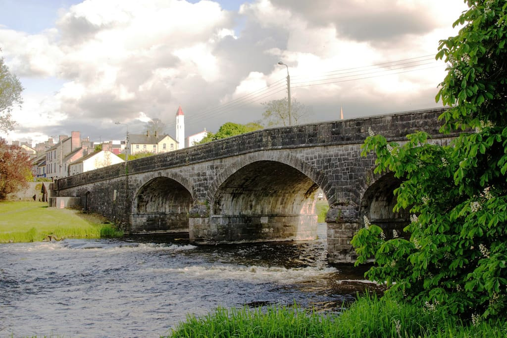River Erne in Belturbet