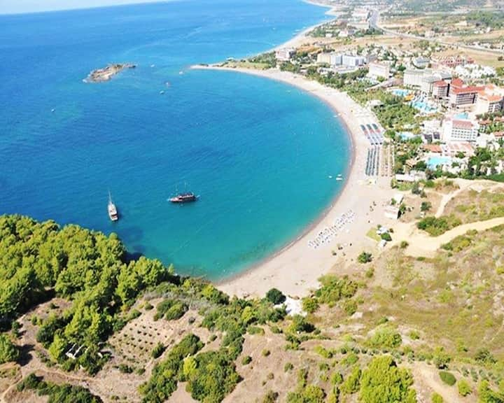 2+1 Apart. big balcony 150m to the Beach Alanya