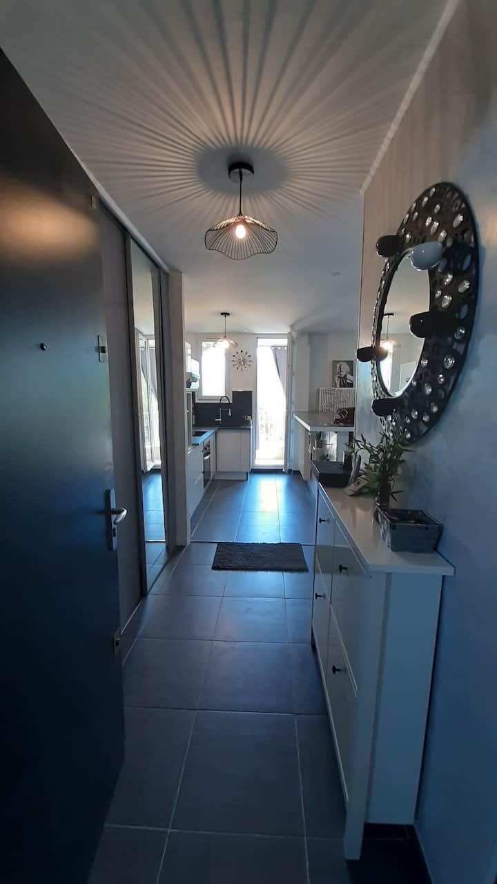 Jolie petit appartement cosy