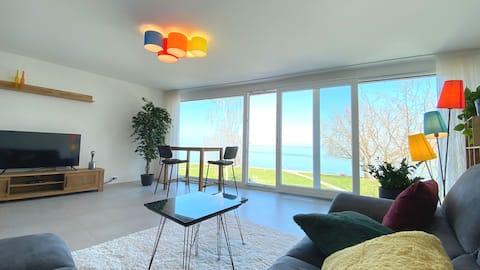 El mejor apartamento de vacaciones directamente en el lago de Constanza