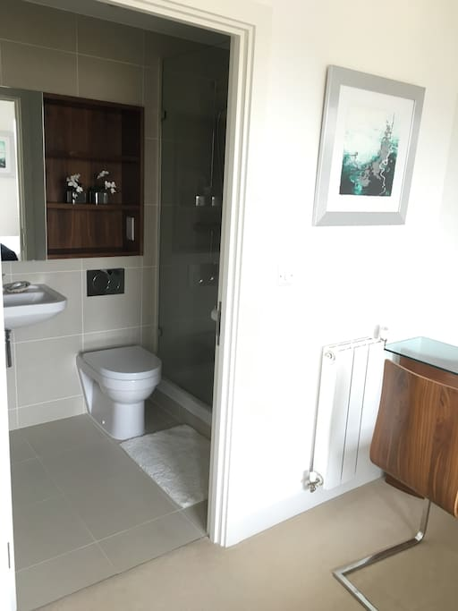 Ensuite private bathroom