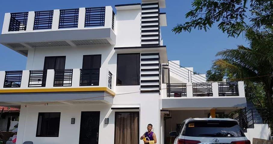3 STOREY MODERN HOUSE 5 BED ROOM