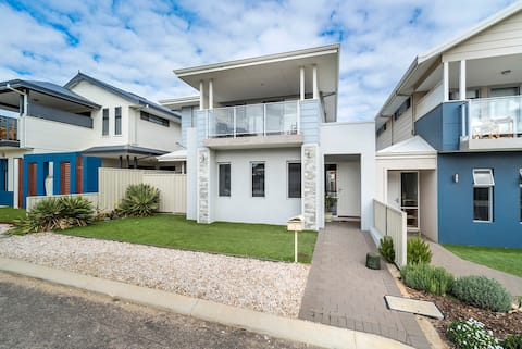 Luxury beach house across from the beach