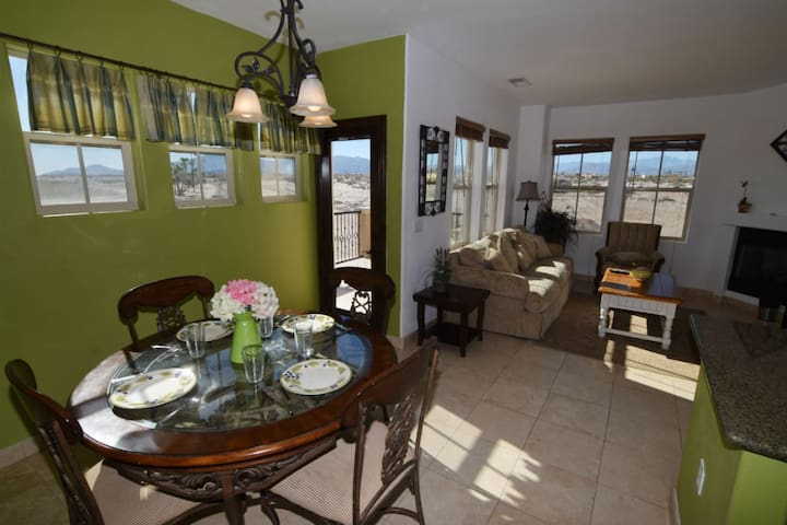 san felipe el dorado ranch living room with dinner table