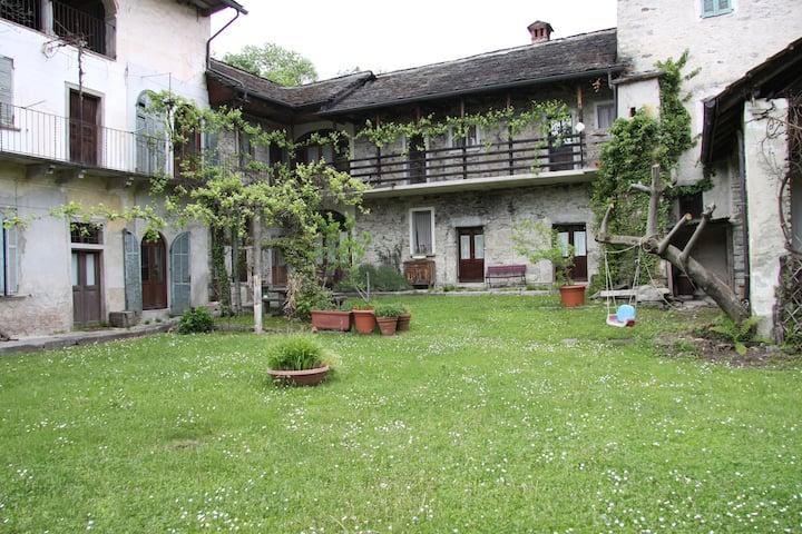 Villa Cristina Grassona di Cesara Lago d'Orta