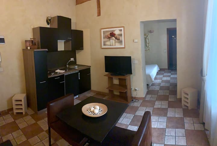 mini apartment in 1200 historical palace