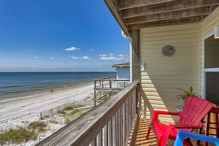 Gulf Front In The Heart of Mexico Beach ~ Sandcastle C