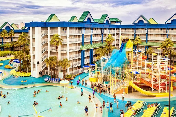 Orlando 2 Bdrs Family Suite at Waterpark Resort